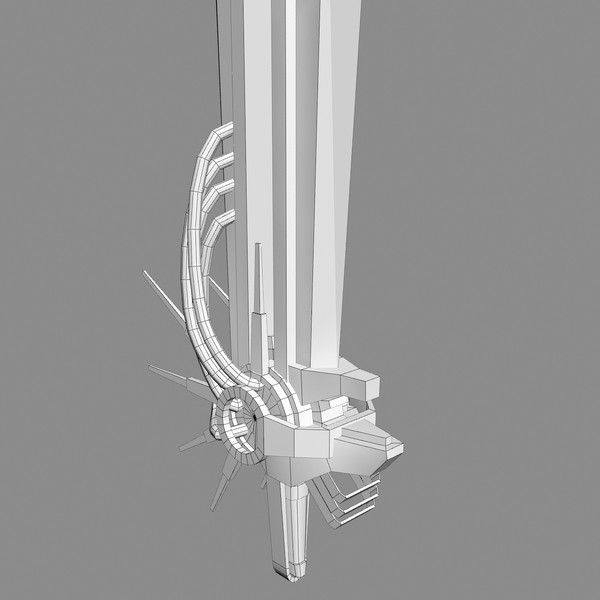 gigantic sword aa1 giant 3d max - Giant Sword AA1... by Mister A
