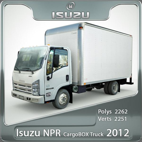 Isuzu NPR CargoBOX 2012