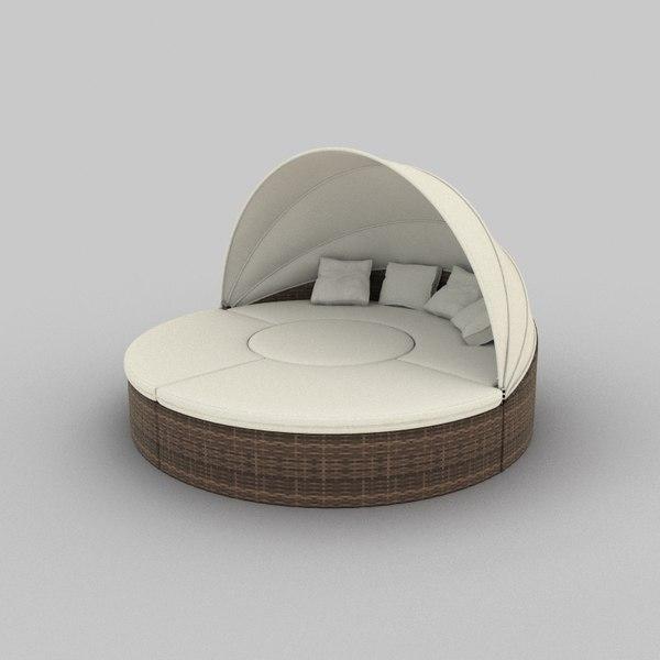 Rattan Seat Set 01