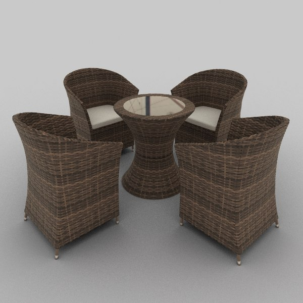 Rattan Seat Set 27