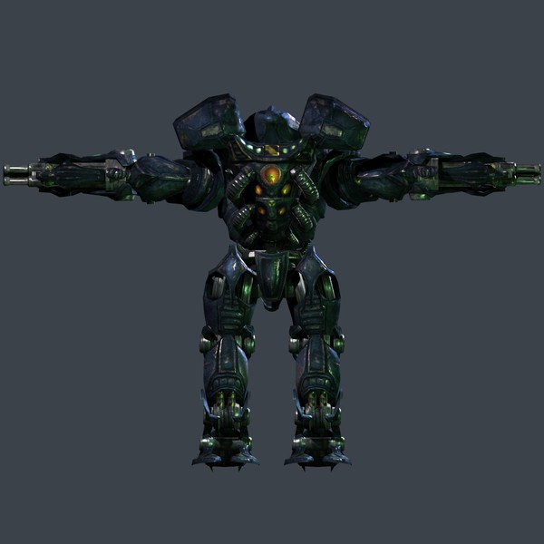 ma assault robot animations - Mech, Heavy Assault Robot, Animated and Game Ready!... by beyond3D