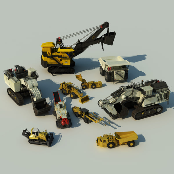 Mining Vehicles Collection