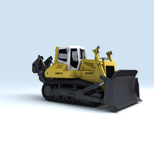mining machines roadheader 3d model - Mining Vehicles Collection... by RippleDesign