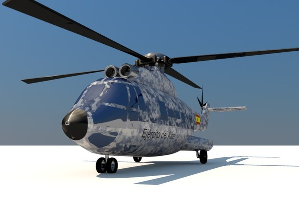3ds eurocopter super puma - Eurocopter AS332 Super Puma... by Graphics XP