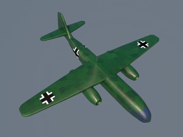c4d arado ar 234 bomber - Arado AR 234... by Graphics XP