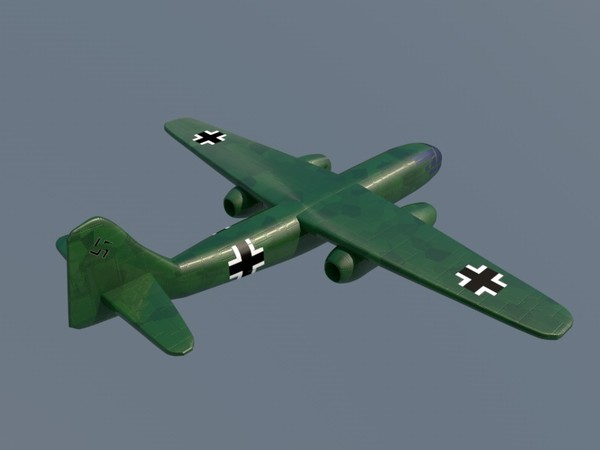 3d arado ar 234 bomber - Arado AR 234... by Graphics XP