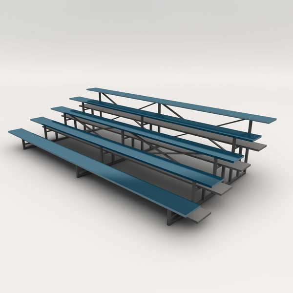 3ds max bleachers