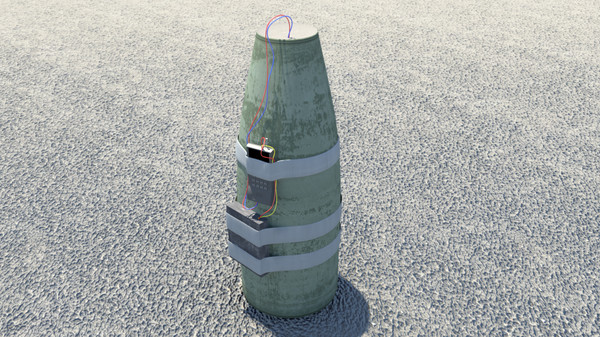 improvised ied 3d obj