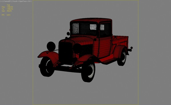 3ds max b pickup - Ford Model B Pickup... by dimosbarbos