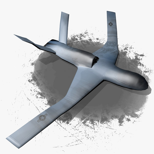 general atomics avenger predator 3d model - General Atomics Avenger Predator C - Wrecked... by dimosbarbos