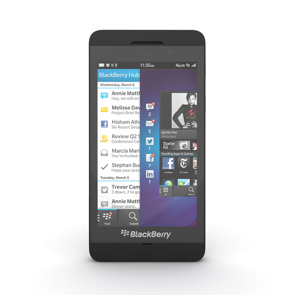 smartphone blackberry z10 max - Blackberry Z10 Smartphone... by Leeift