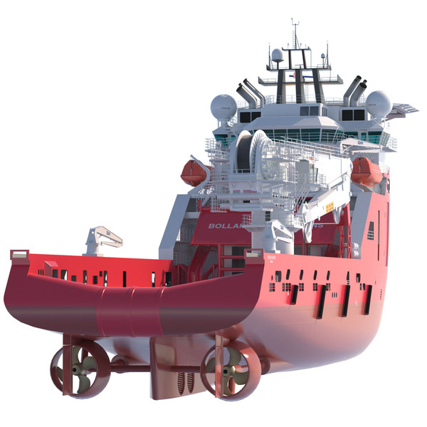 3d construction anchor handling vessel - Construction Anchor Handling Vessel SKANDI SKANSEN... by ArqArt3D