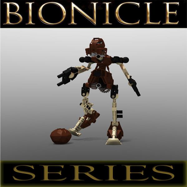 Lego Bionicle Robot - Pohatu