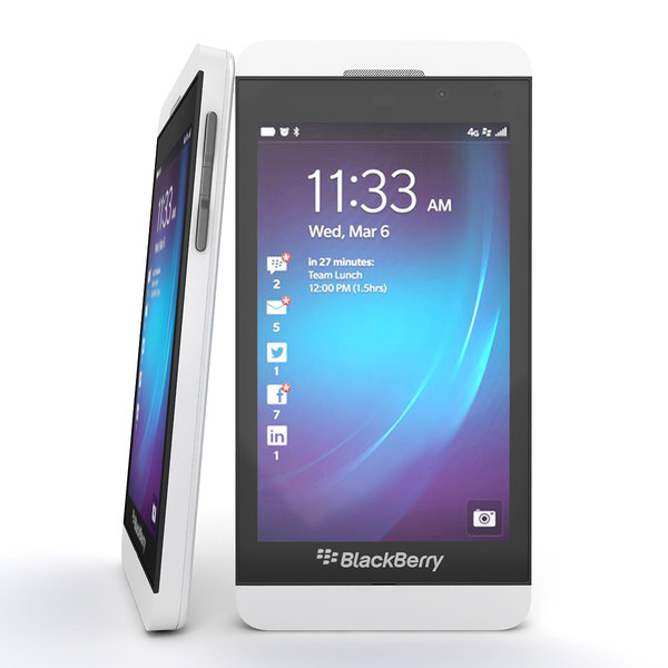 smartphones q - Blackberry Q10 and  Blackberry Z10 Smartphone Collection... by Leeift