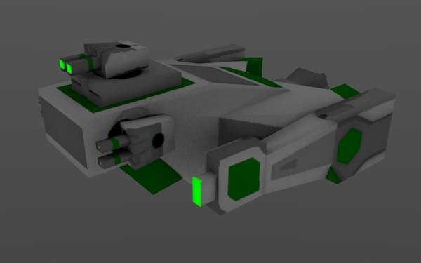 3d model green - Green Ship Pack... by SpiritOfOnyx