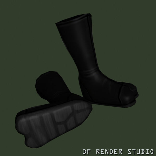 kicks boots alien movie 3d max - Alien Boots... by DF Render Studio