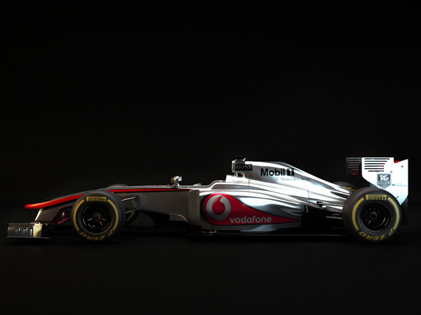 3d mp4 28 f1 - Mclaren MP4 28  F1 2013... by dessga