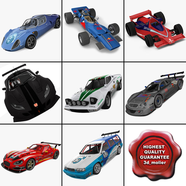 Racing Cars Collection 7