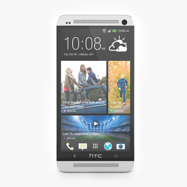 HTC One 2013  Flagship Smartphone in White color