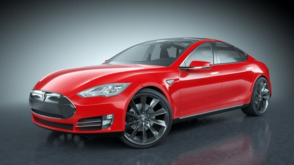 3d 2013 tesla s modeled