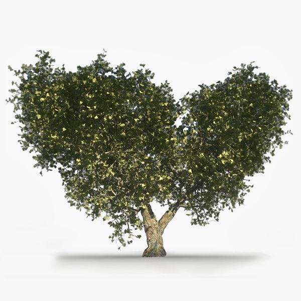 3ds max oak tree summer