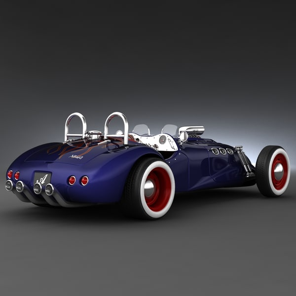 3d retro cars 21 - Retro Cars Collection 21... by 3d_molier