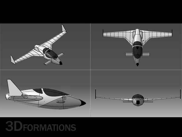 jet plane max - JET... by 3dformations