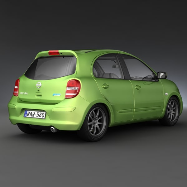 3ds max small cars 3 - Small Cars Collection 3... by 3d_molier