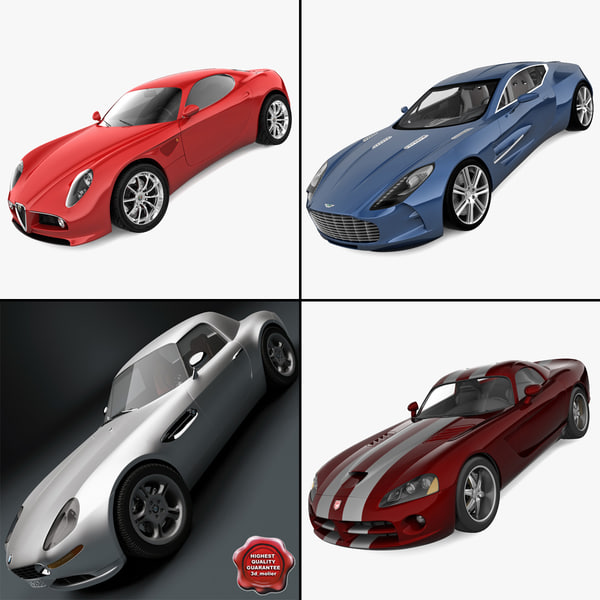 sports car 1 3d c4d
