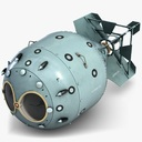 nuclear bomb 3D models