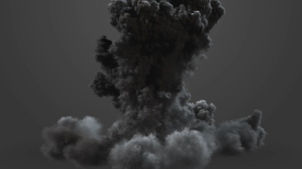 explosion fumefx max - FumeFx heavy Bomb 2... by Insect.Digital.Alchemy