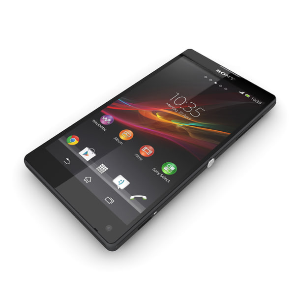 sony peria l black s - Sony Xperia ZL Black... by gtalon