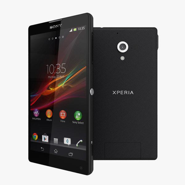 Sony Xperia ZL Black