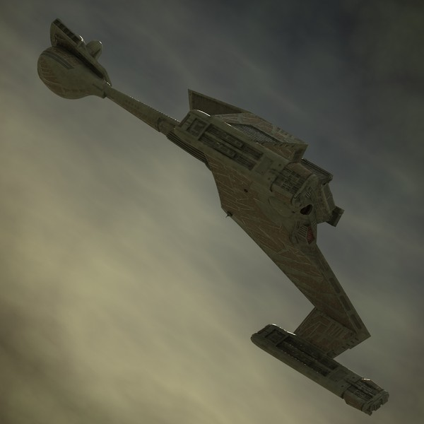klingon k t inga 3d model - K'T'Inga Battlecruiser... by luki82