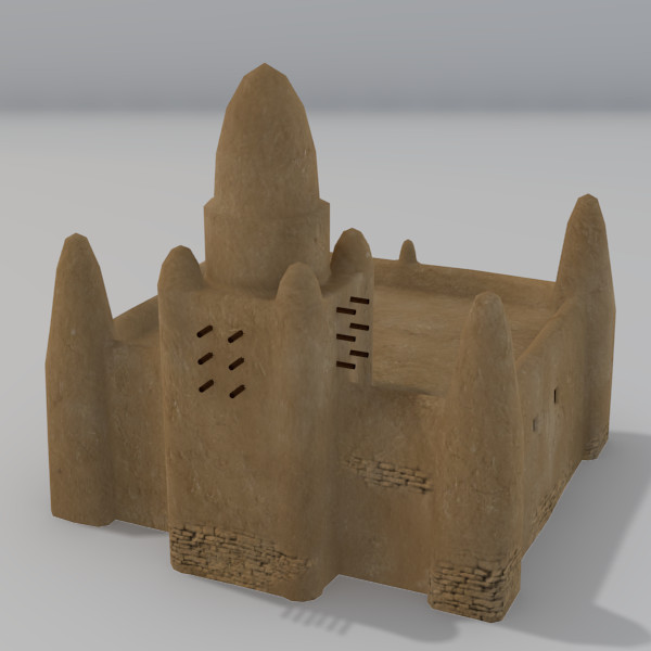3d model adobe dogon buildings 9 - Dogon Building 9... by Sirren