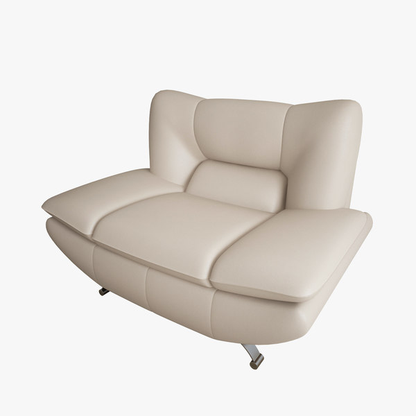 3d model of armchair