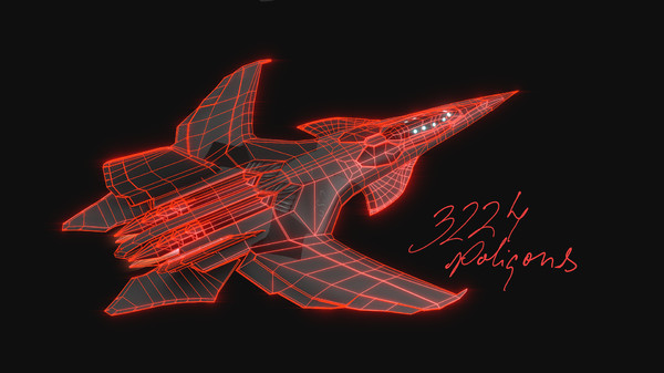3d model gs2 fighter jet - GS2 Fighter Jet... by TotexArtz