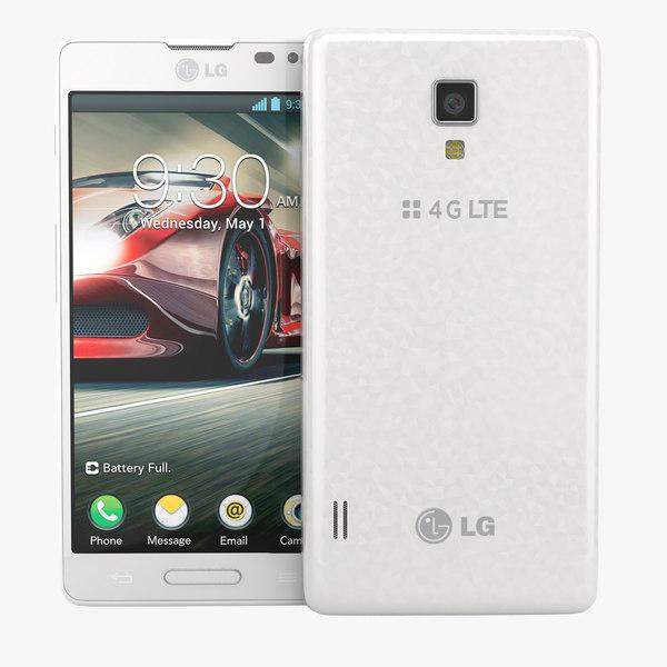 lg optimus f7 smartphone 3d 3ds