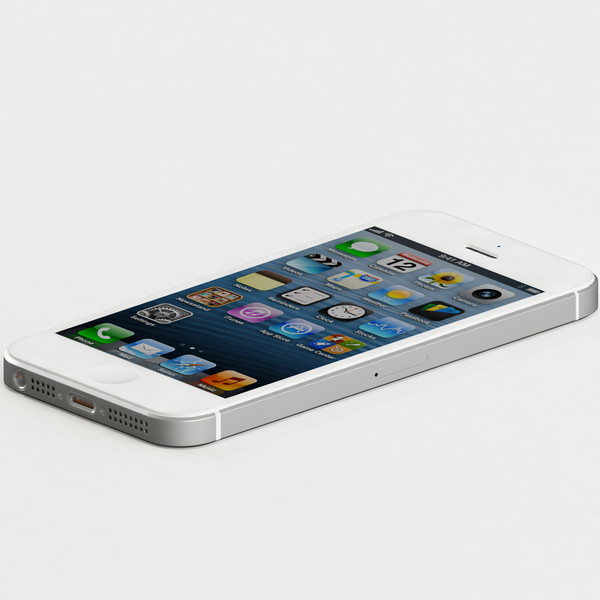 3d iphone 5 model - Iphone 5... by emallika2
