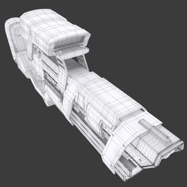 max weapon design - Sci Fi Laser Weapon... by 3DEnvironmentModels