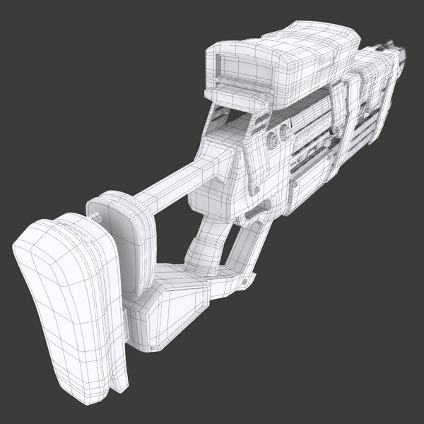 max weapon design - Sci Fi Laser Weapon... by KeremGogus