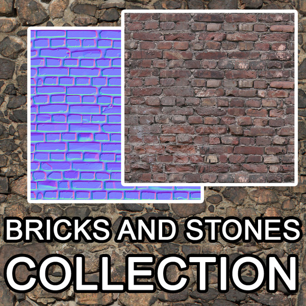 Bricks and stones textures vol.1