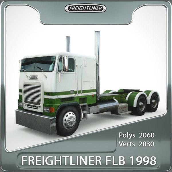 3d freightliner flb 1998
