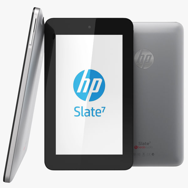 HP Slate 7 Tablet Silver