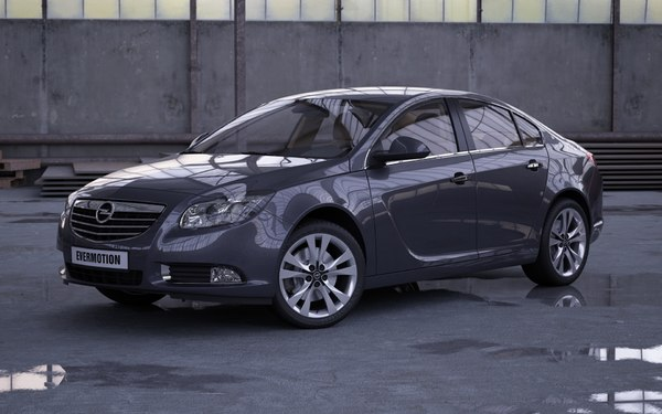 car opel insignia 3d max - Opel Insignia... by evermotion