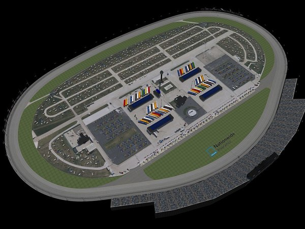 3d chicagoland track oval