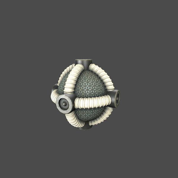 maya sci-fi bomb v4