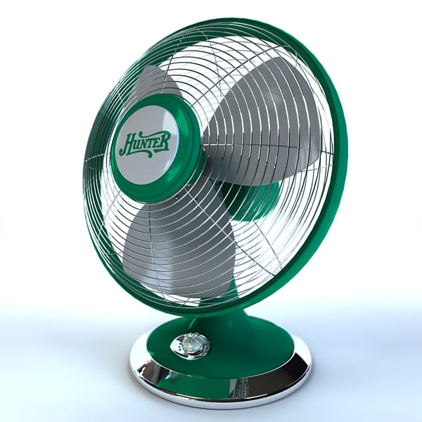 3d max fan hunter portable - Portable Fan (