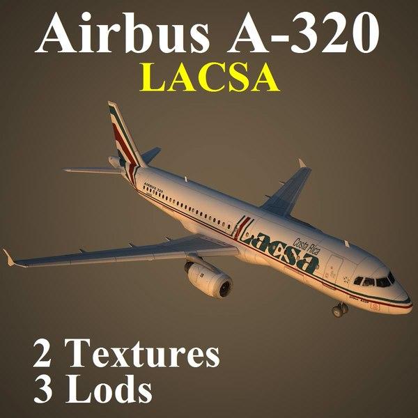 airbus lrc 3d model