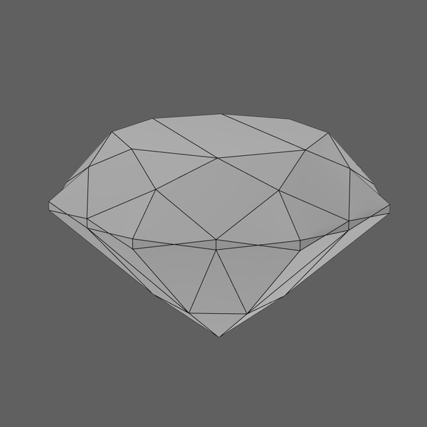 3d diamond materials model - diamond... by PolyTron